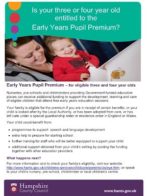 do you qualify for early years pupil premium do you qualify for 2 year old funding